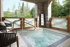 Private Hot Tub in the Two Bedroom Den and Townhouse