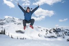 Enjoying the slopes!